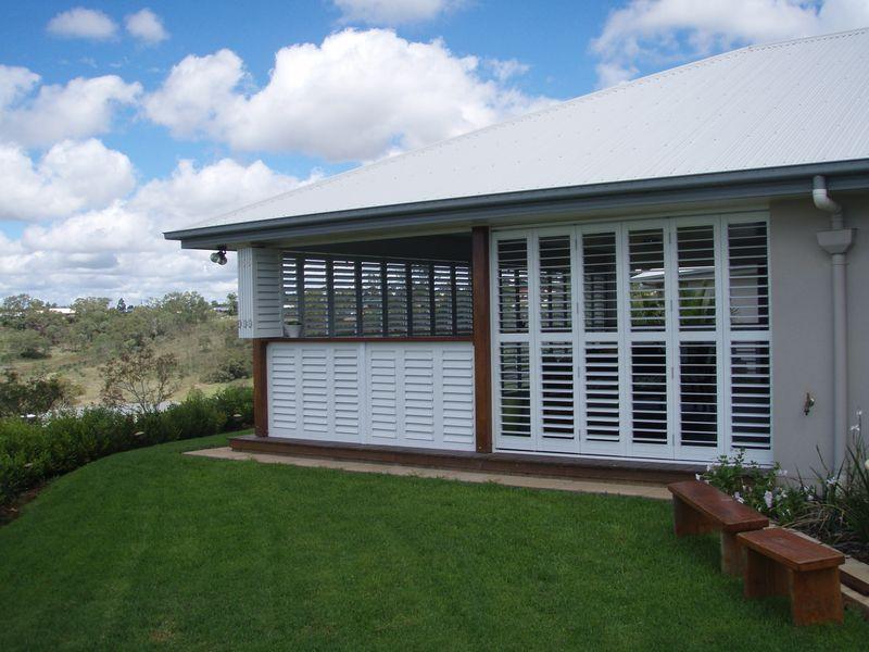 external aluminium plantation shutters awnings blinds