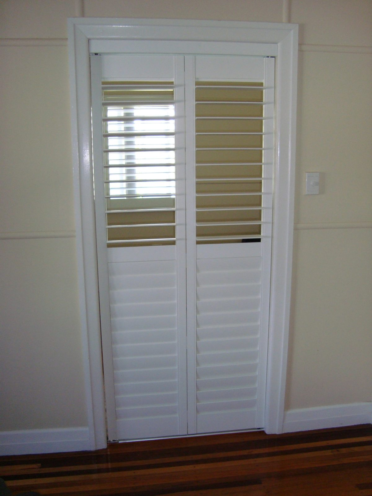 Townsville Shutters Inside And Outside Aluminium PVC And