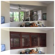 TRANSFORM YOUR HOME WITH STAINED TIMBER SHUTTERS