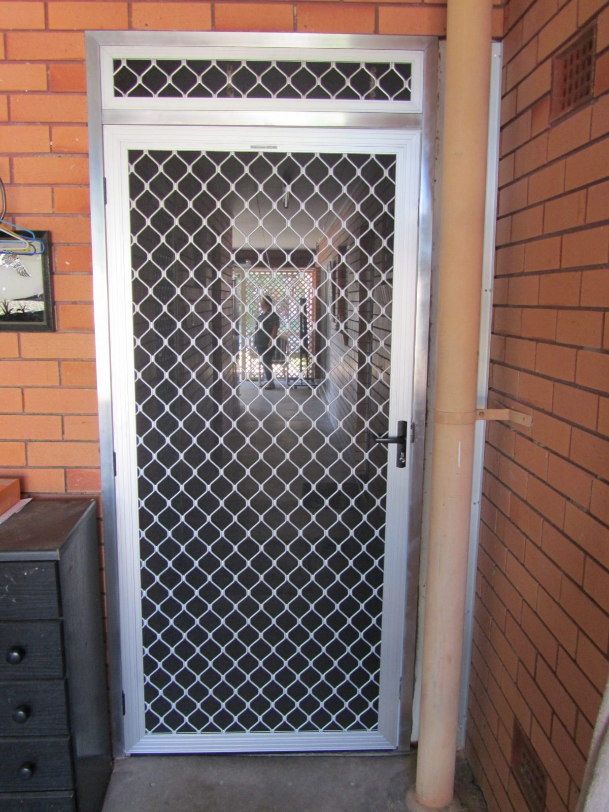 Security Doors and Screens & Rollaway Pleated Screens ...