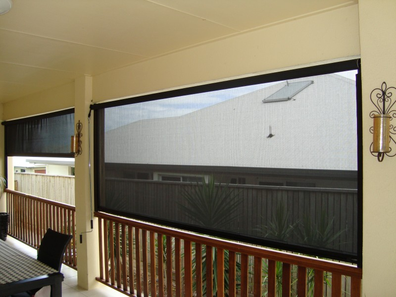Winder Operated Side Channel Blinds Blinds Awnings
