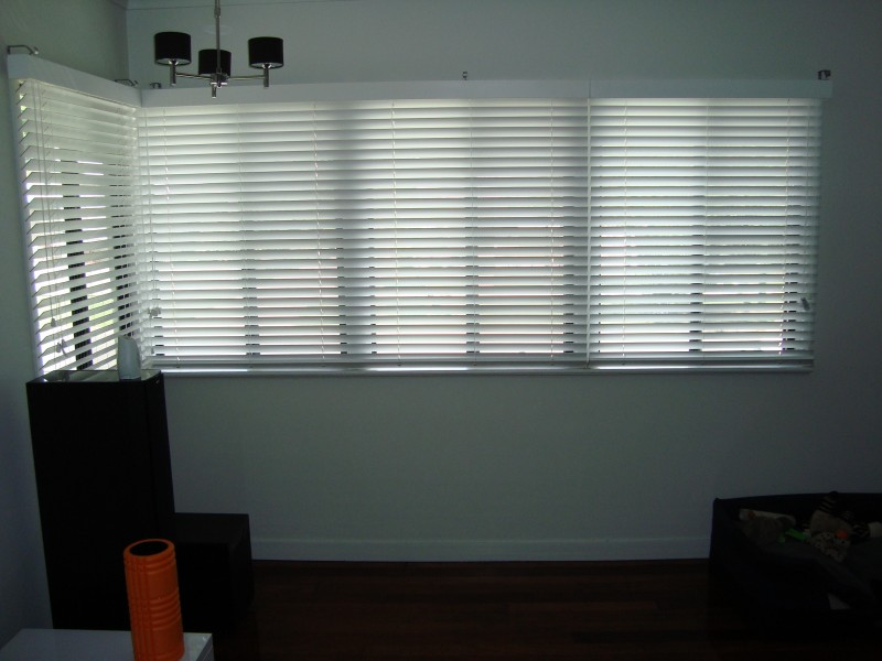 White Timber Venetian Blinds Blinds Awnings Shutters Security